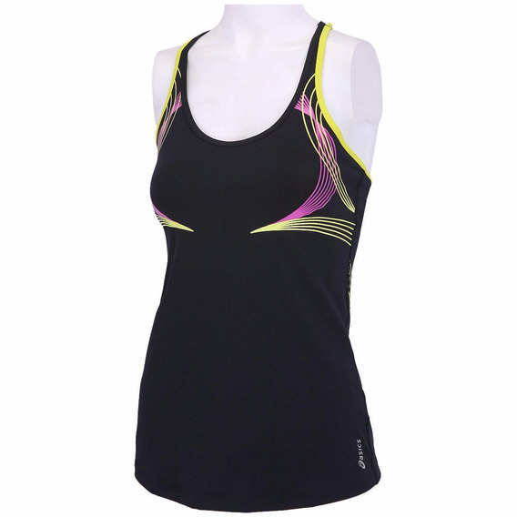 Camiseta Regata Asics Illusion Tank Fitness Running Top