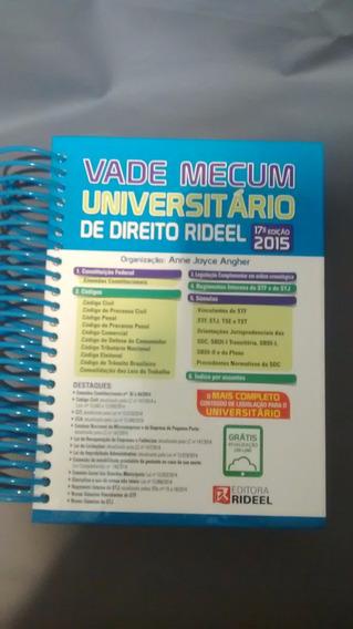 Vade Mecum Universitário De Direito Rideel - 2015