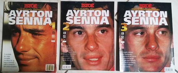 Revistas Pôster Uma Estrela Chamada Ayrton Senna -3 Unidades
