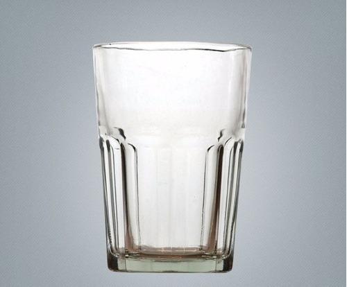 Set De 6 Vasos De Vidrio Transparente Durax