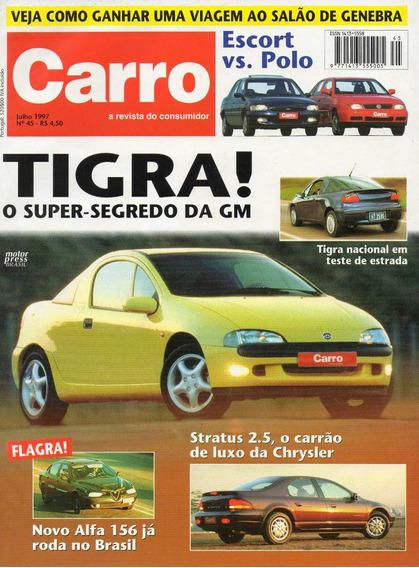 Carro Nº45 Tigra Escort Polo Chrysler Stratus 2.5
