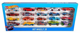 Pack Carros Hot Wheels 20 (styles May Vary)