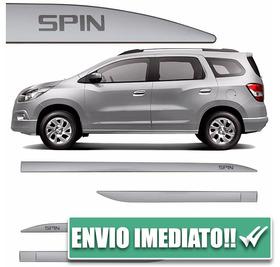Jogo Friso Lateral Slim Spin 12 À 16 4 Peças Prata Switchbla