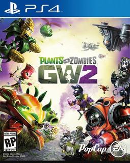 Plantas Vs Zombies Garden Warfare 2 Ps4 Formato Físico