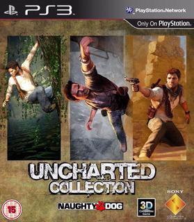 Uncharted Ps3 | Digital Español 3 Juegos Completos Oferta!