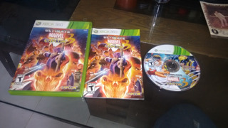 Ultimate Marvel Vs Capcom 3 Sin Instructivo Para Xbox 360