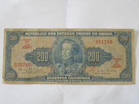 Cédula 200 Cruzeiros 1964