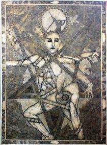 Desenho Pintura Bico De Pena - Único - 96x130cm