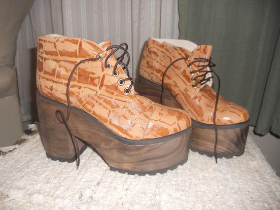 Zapatos Abotinados N°38 Divinos
