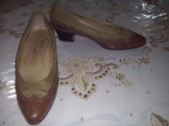Zapato Lonte Combinado