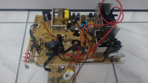 Imagem 1 de 4 de Placa Crt Nova Cce 29l Mod.hps2906 Completa Flyback Tat 2907