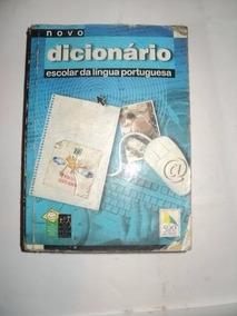 Livro - Novo Dicionario Escolar Da Lingua Portuguesa