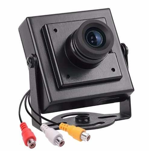 Kit Cftv 08 Mini Cameras Seykon Ccd Orig Day Night