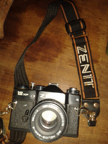 Camera Antiga Zenit 12xp (only Wood)