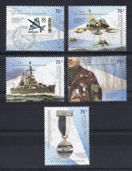 Argentina 2007 Gj 3583/87** Mint Conflicto Malvinas A