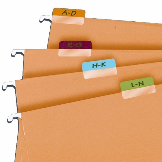 Marcador Páginas Maxi Tabs Branco - Caixa Com 10 Blisters