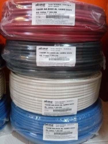 Oferta En Cable Thhw Nro 6 De Aluminio Alcave Aa-8000