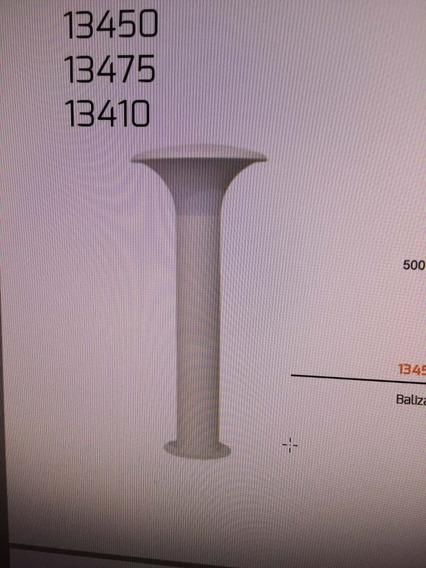 Balizador Em Aluminio Germany Ref.13445000 Com 50cm Altura