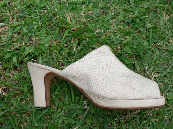 Zapato Zueco Sandalia Plataforma Nº 39 Vintage Pepe Cantero