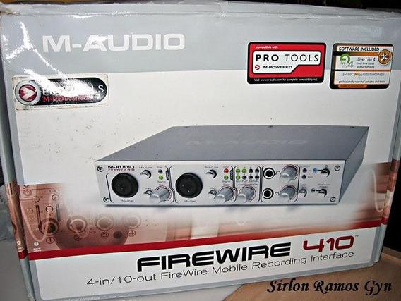 Placa Maudio 410 Firewire/ Gravações E Vs Ao Vivo. Toooop!