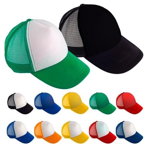 10 Pack Gorra Trucker, Gorra Malla, Colores Envio Gratis
