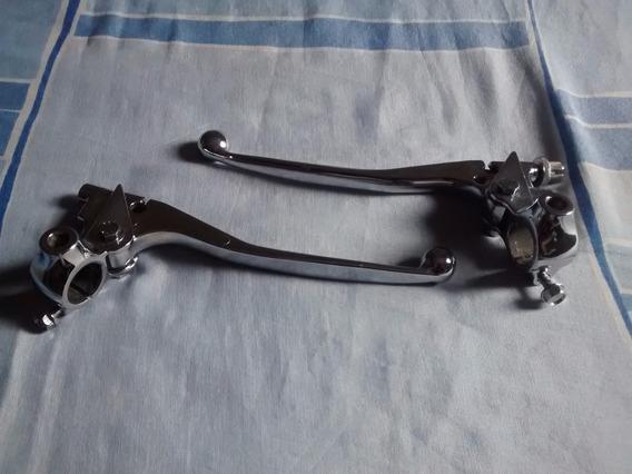 Manete Cromados 125/150 Originais Honda