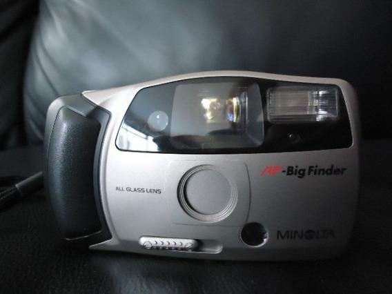 Maquina Fotográfica Minolta Para Utilização De Filme