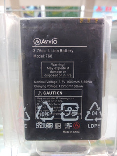 Bateria Avvio 768 3.7v 1500 Mah 5.5 Wh Original Sellada