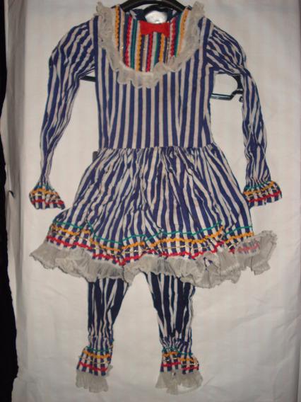 Vestido Estilo Caipira Tam 06 Anos