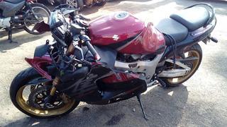 Sucata De Moto Para Peças Suzuki Hayabusa Modelo 2008 A 2009