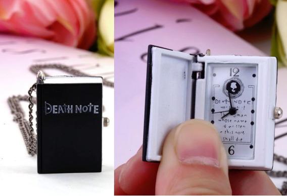 Reloj Collar Death Note Mercaenvio Dhl - Fedex