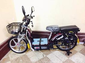 Bicimoto Electrica - Con Motor Electrico 100% Sin Ruido