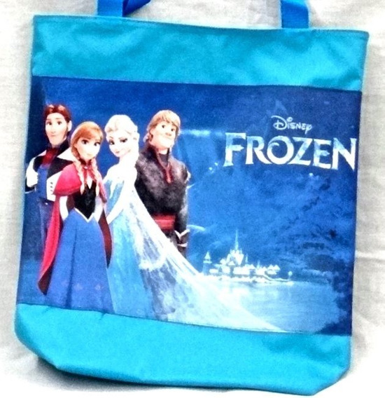 Bolso Cartera 33x34 Frozen Descendientes Disney L4.78