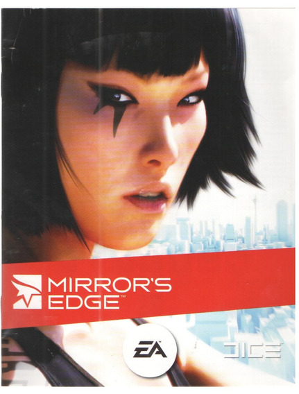 Manual De Instrucoes Jogo Mirror`s Edge/20pg/play 3