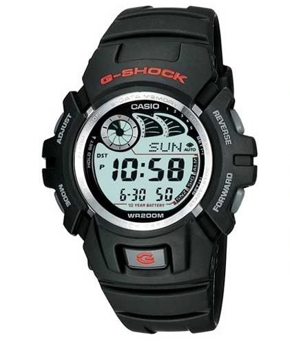 Relógio Casio G-shock G-2900f-1vdr Masculino Original Preto