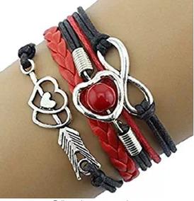 Bracelete Amor Infinito Vermelho - Glam0061