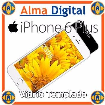 Protector Vidrio Templado Lámina Antigolpe iPhone 6 Plus 6+