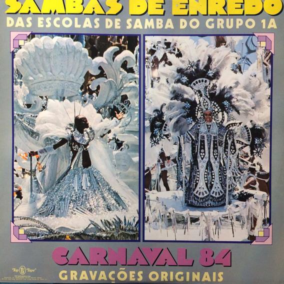 Lp Sambas De Enredo Das Escolas De Samba Do Grupo 1a ( 1984)