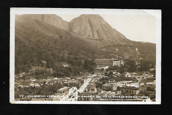 Nova Friburgo-rj-vista Parcial/colegio Anchieta.c.postal Fot