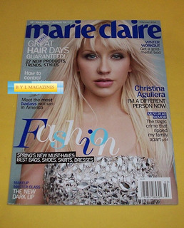 Christina Aguilera Revista Marie Claire 2010 Amber Valleta