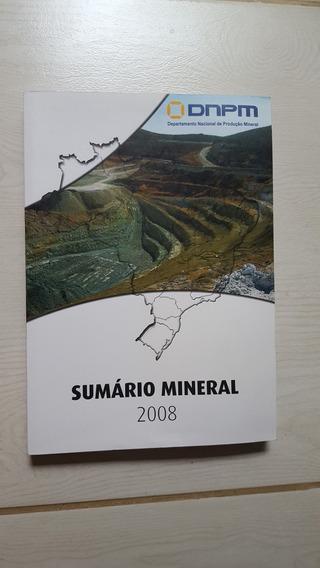 Livro Sumário Mineral Brasileiro Dnpm 2008
