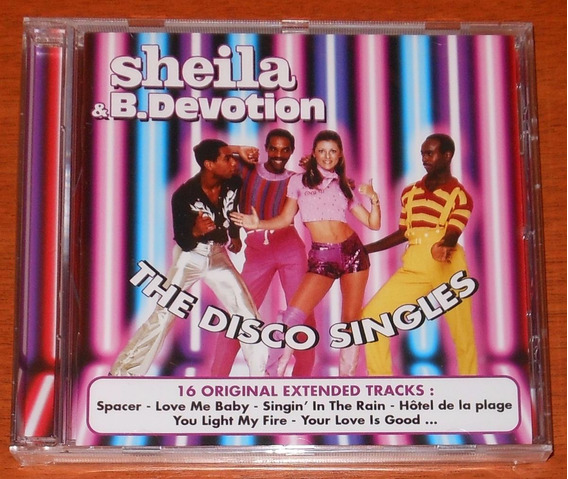 Cd - Sheila & B. Devotion - The Disco Singles