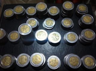 Mexico Moneda De 5 Pesos Centenario Y Bicentenario