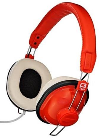 Fone Microfone Nessie C3 Tech Pronta Entrega E Frete Grátis