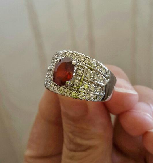 Anel Rubi Burmese Com Diamantes Imperatriz Europea
