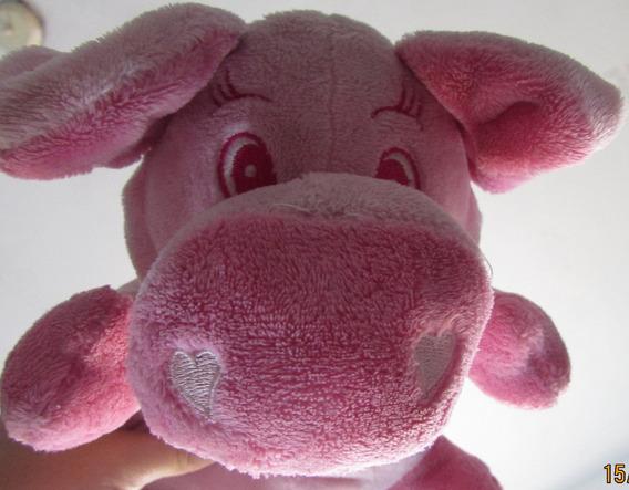 Porco Rosa De Pelúcia 26 Cm Aceito Proposta