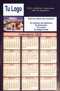 Calendarios Almanaques Imán Envío Gratis Postal 20x15