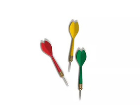 Gold Sports Kit 3 Dardos Principiante 8 Gramas Gs2403
