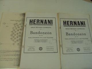 Hernani Gran Método Completo De Bandoneón-op.285 C/ilustrac.