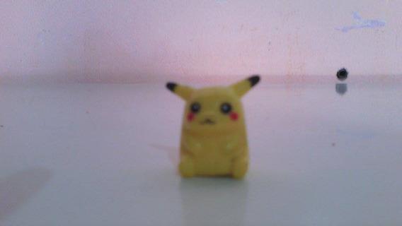 Briquedos Antigos Lote C/4 Miniatura De Pokemon P/brincar